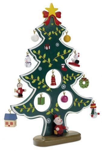 Houten kerstboom bedrukken